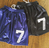 Boys Mesh Shorts-Name and Number