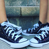 Custom Splatter Painted Converse-Adult