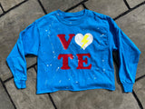 Cropped VOTE Long Sleeve