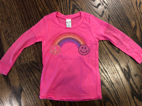Pink Rainbow Bling-size 12 mos-GIT
