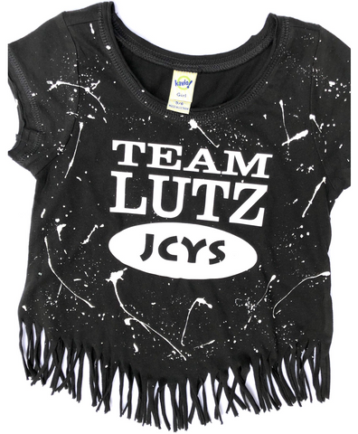 Lutz Youth Fringe Tee