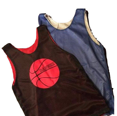 Mesh Reversible Basketball Jersey front only