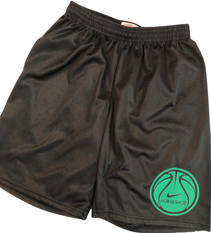 Boys Mesh Shorts-Basketball and Swoosh