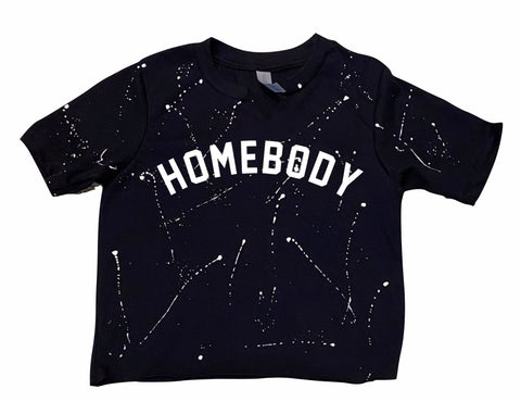 Quarantine Collection-Homebody Cropped Tee