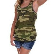 Design Your Own Camo Racer Back Tank