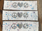 Custom Splatter Painted Headband - FREE SHIPPING