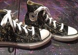 Custom Splatter Painted Converse-Big Kid