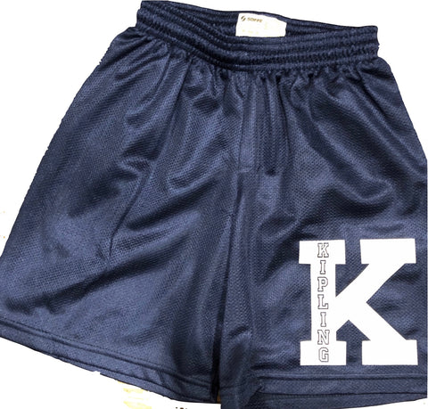 Boys Mesh Shorts-Name and Letter