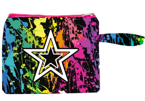 Star Splatter Wet Bag