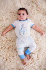 Organic Cotton Baby Pant -  Springtime Play