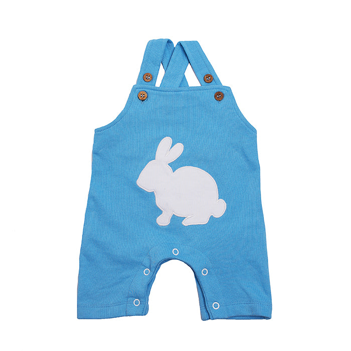 Organic Cotton Baby Boy Overall - Bunny