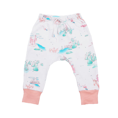 Organic Cotton Baby Pant - Springtime Dream