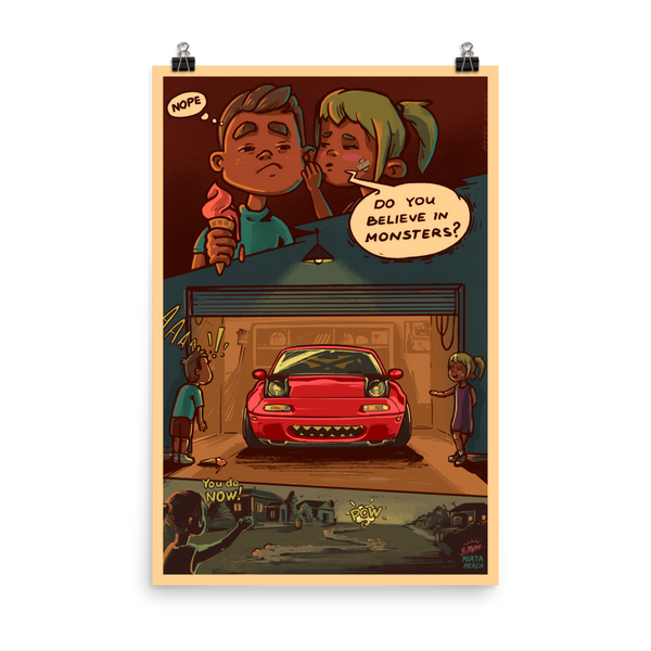 Monster Miata Poster