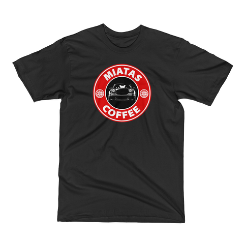 Miatas and Coffee Tee Men's