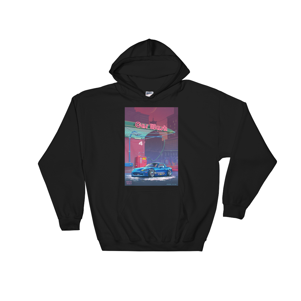 RetroFuturistic Car Wash Hoodie Men's/Women's