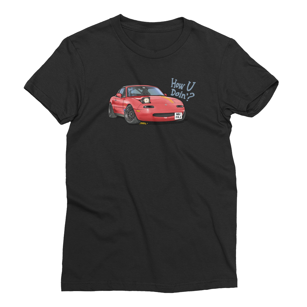 Car Throttle Phil Tee Women's