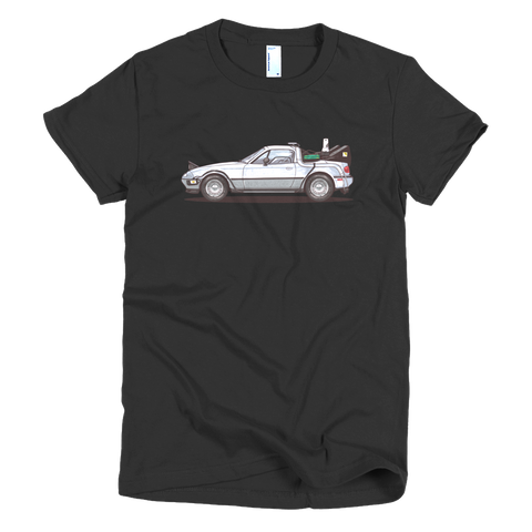 Back to the Future Miata Tee Women's