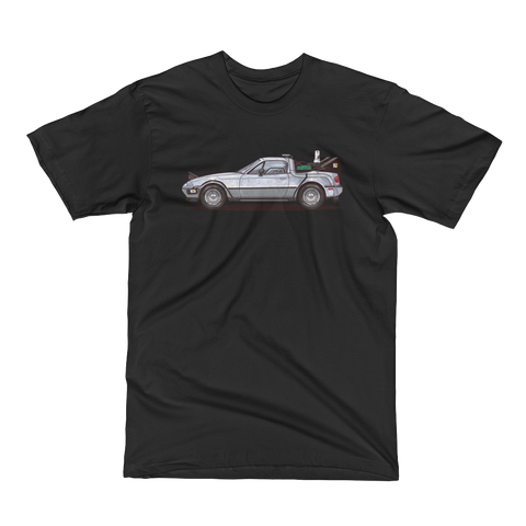 Back to the Future Miata Tee Men's