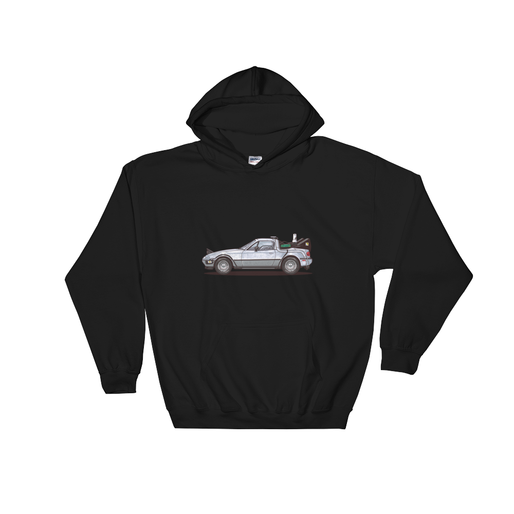 Back to the Future Miata Hoodie Men's/Women's