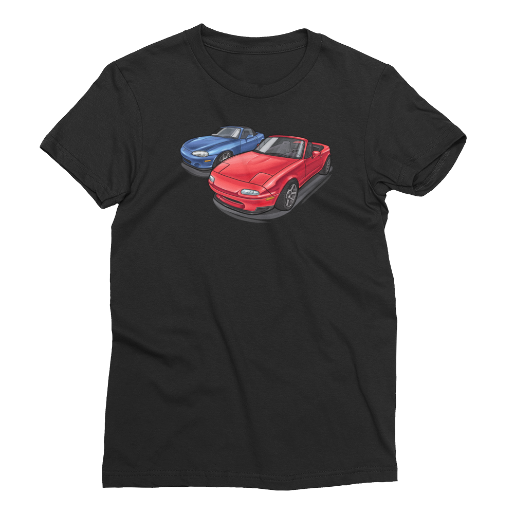 One Miata, Two Miata... Tee Women's