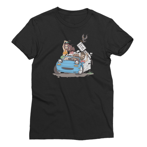 Traveling Sideways NA Tee Women's