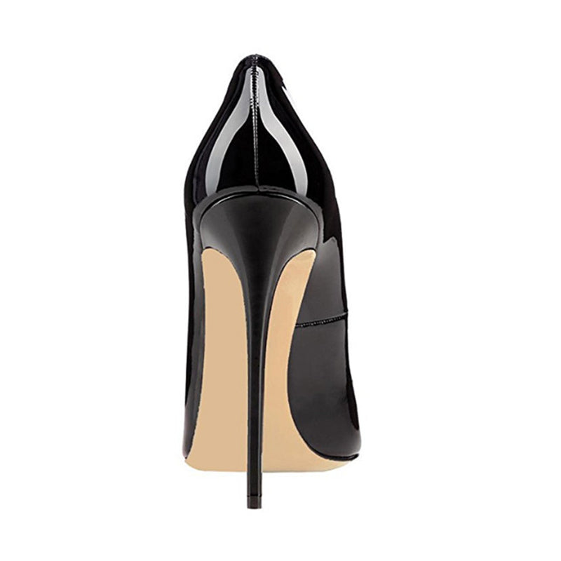 High heels, Classy high quality slip-on wave pointed womens shoes