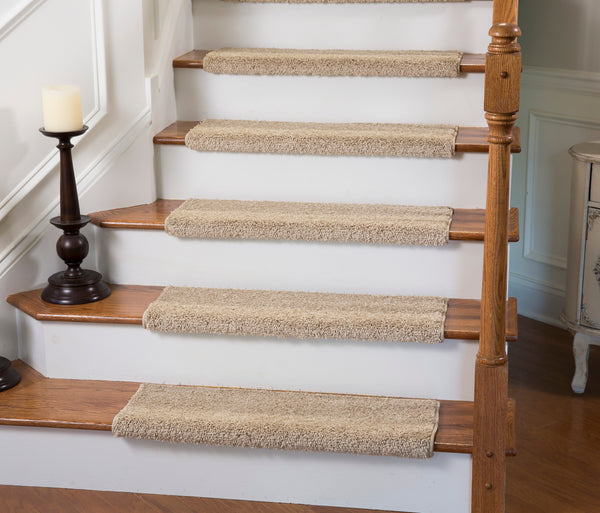 Tread comfort adhesive flooring solutions for Jardin stair treads
