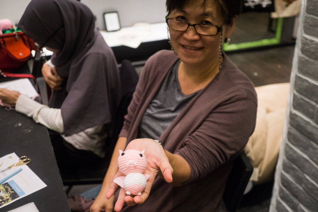 Tiny Rabbit Hole – Workshop at Naiise@Orchard Gateway – Amigurumi Crochet Weekend Workshop