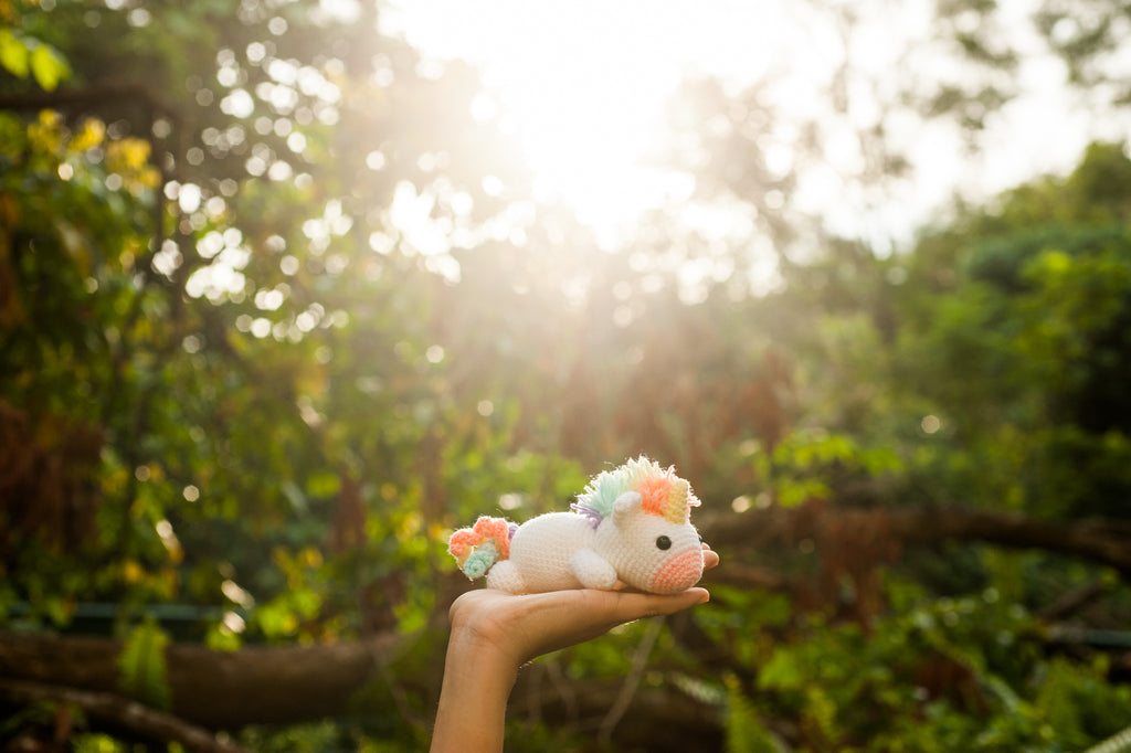 Crocheted Unicorn Amigurumi – Tiny Rabbit Hole