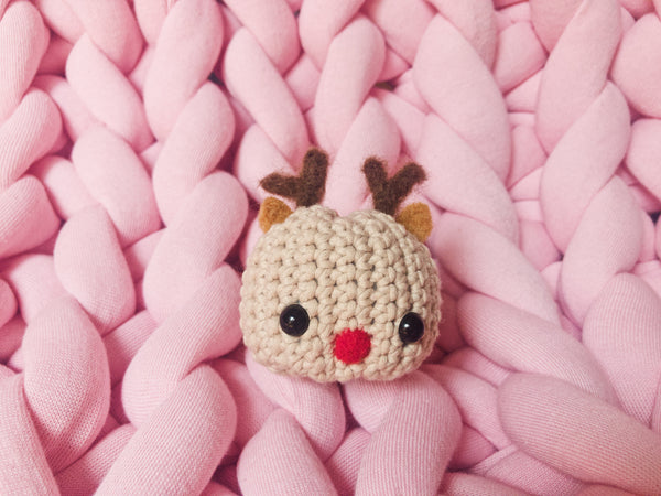 Tiny Rabbit Hole - Crochet Reindeer Amigurumi Craft Workshop