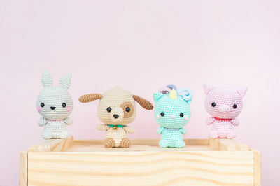 Tiny Rabbit Hole - Fundamentals Crochet Knitting Rabbit Dog Cat Pig Amigurumi Classes in Chinatown Singapore