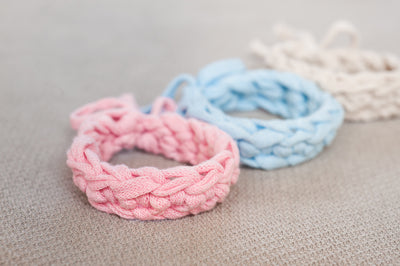 Tiny Rabbit Hole - Fundamentals of Crochet Bracelet