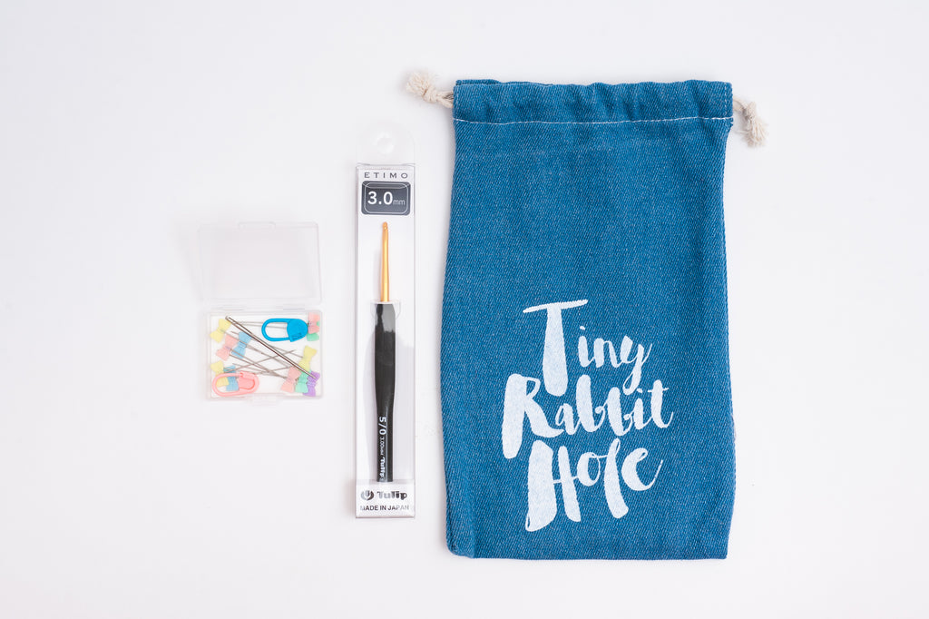 tiny rabbit hole - Buy Japan Tulip ETIMO Crochet Hook Set with Stitch Marker, Yarn Needle and Ribbon Pins from Singapore Chinatown