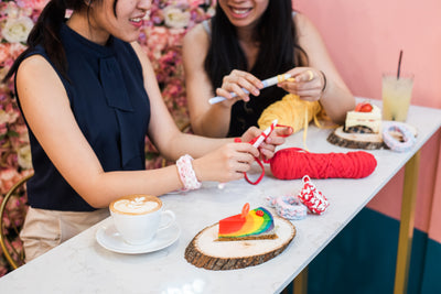Tiny Rabbit Hole – crochet workshop amigurumi basic fundamentals singapore chinatown simple bracelet zphaghetti hooked ribbon xl tulip coffee cake dessert mothers day whiskit cafe tea milkshake cafe hopping
