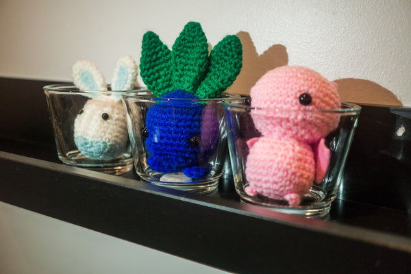 tiny rabbit hole - crochet knit expedite my amigurumi