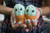 Tiny Rabbit Hole - Trial Crochet workshop toys