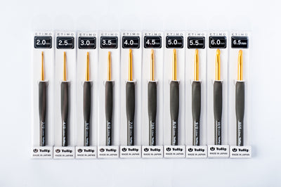 tiny rabbit hole - buy crochet 2.0mm 2.2mm 2.5mm 3.0mm 3.5mm 4.0mm 4.5mm 5.0mm 5.5mm 6.0mm 6.5mm Japan Tulip ETIMO Crochet Hook Singapore