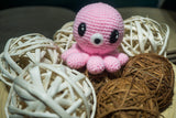 Pink Octopus from Legend of the Blue Sea Amigurumi Crochet Pattern - Tiny Rabbit Hole