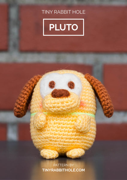 tiny rabbit hole - crochet your favourite amigurumi bootcamp singapore Workshop lesson course pluto from disney