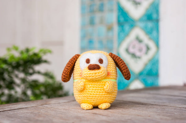 tiny rabbit hole - crochet knit ufufy pluto amigurumi pattern