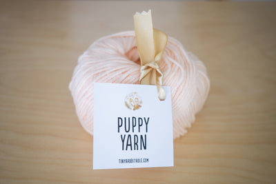 Tiny Rabbit Hole Puppy Yarn