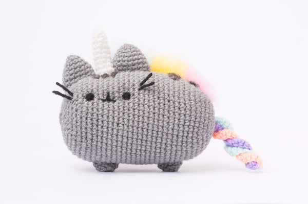 Tiny Rabbit Hole - Knit Crochet rainbow unicorn pusheenicorn the cat Amigurumi Pattern