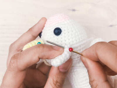 tiny rabbit hole - best beginner basic craft diy handmade knitting crochet cute cactus amigurumi workshop classes lessons courses singapore stitching techniques