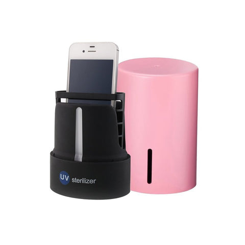 Ultra Violet Light Cellphone Sterilizer - Your Phone Is The Germiest Thing You Own!