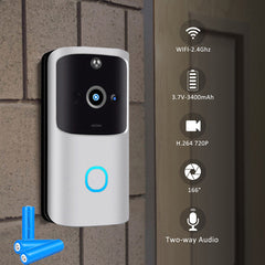 Wireless WiFi DoorBell Smart Video Phone Visual - The Gadget Junkie