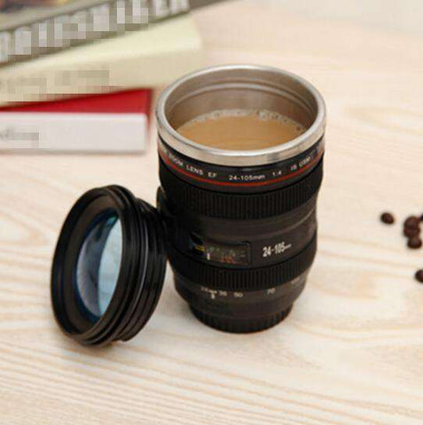 Camera Lens ThermoMug - Almost 14 oz of Liquid Refreshment! - The Gadget Junkie