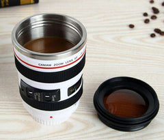 Camera Lens ThermoMug - Almost 14 oz of Liquid Refreshment!