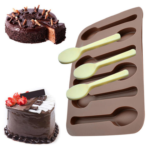 Chocolate Spoon Mold - Ultimate Sweet Tooth Satisfier!