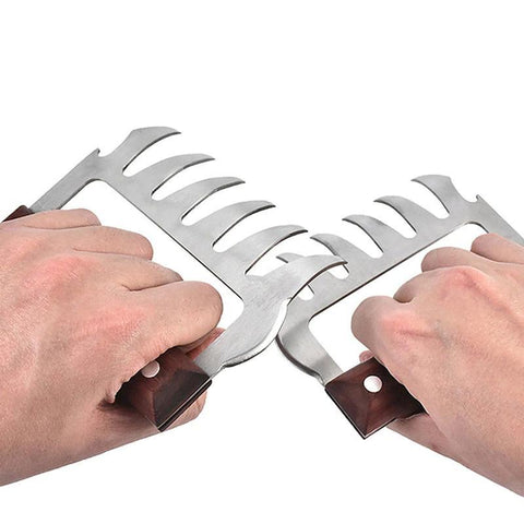 Stainless Steel Meat Claws  - The Ultimate BBQ Tool! - The Gadget Junkie