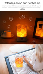 USB Crystal LED Himalayan Salt Lamp - Better than a Lava Lamp!